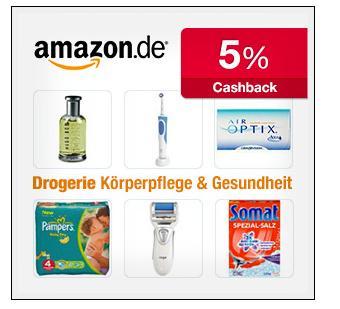 Neu - Amazon.de - Drogerie & Beauty Artikel - 5% Cashback von Qipu