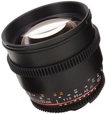 Objektiv Samyang 85mm T/1.5 für Nikon