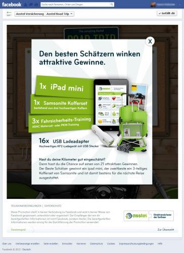 iPad mini, Samsonite Kofferset, ADAC Gutscheine, KFZ-Ladeadapter gewinnen