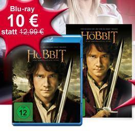 {Müller Offline} Der Hobbit Blu-Ray für 10 Euro, DVD für 5 Euro (nur am Freitag, 3.5.!)
