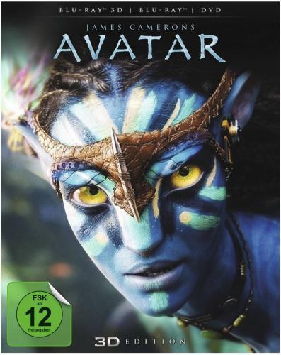 Avatar 3D – Blu-ray 3D + Blu-ray + DVD für 19,99 € @ Saturn.de
