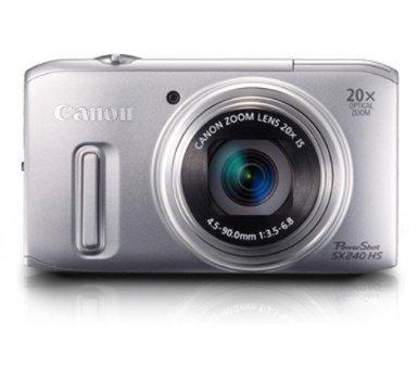 Canon PowerShot SX 240 HS Digitalkamera silber für 172,99 Euro bei Amazon