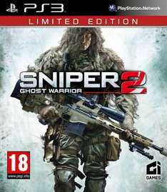 XBox360/PS3 - Sniper: Ghost Warrior 2 (Limited Edition) für €20,88 [@Zavvi.com]