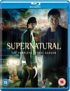 Blu-Ray Box - Supernatural Staffel 1 (4 Discs) für €10,63 [@TheHut.com]