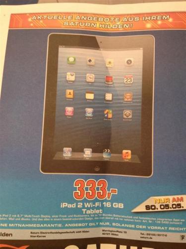 iPad 2 Wi-Fi 16 GB