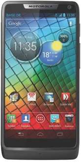 "Motorola RAZR i - 4,3"" Display, Android 4.1, 2GHz CPU, 8MP Kamera, Gorilla Glas für 299€ bei Base"