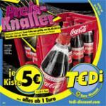 [Reminder][TeDi][06.05.2013]: Kasten Coca Cola 12x1 Liter für 5,00€ zzgl. Pfand