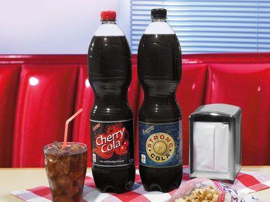 Cherry Cola oder Strong Cola bei Lidl für 0,49 €/1,5 L Flasche