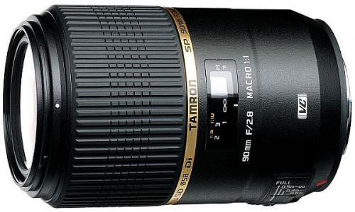 Tamron 90mm Makro f2.8 mit VC für 499€ statt 648€ aufwärts Canon & Nikon @ Foto Erhardt