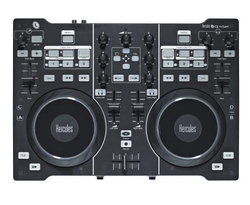 Hercules DJ 4 Set - 2 Deck + 4-Deck Controller