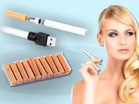 e-Zigarette Starterset mit Aroma-Depot-Mix