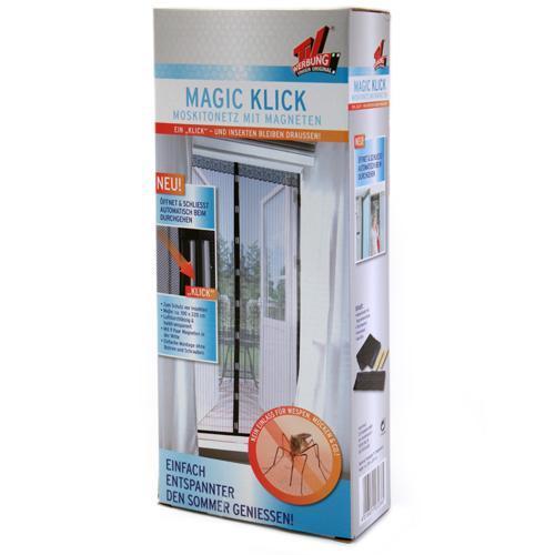 Magic Klick Moskitonetz mit Magnetverschluss (90x210cm) für 9,99€ frei Haus @ebay