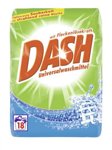 Dash Universalwaschmittel (18 WL) 1,224 kg 1 WL= 12cent  für 2,22€  Thomas Philipps