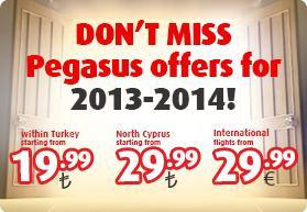 Konstantinopel Special mit Pegasus Air: z.B. München - Istanbul - München, viele andere Abflughaefen, Ziele und Türkeifluege ab €8.50!