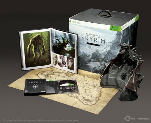 [Österreich] Skyrim Collector's Edition für PC / Xbox360 für 49,90 Euro; zzgl. Versandkosten
