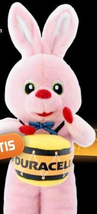 2 Packungen Duracell kaufen und ein Plüsch-Bunny gratis erhalten (kein Porto)