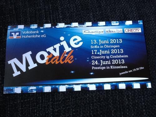 [Regional] Kostenlos ins Kino zu Hangover 3 für zwei Personen inkl. Getränk und Popcorn durch Movie Talk