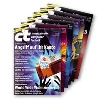 6 Ausgaben c't + 15€ Amazon Gutschein (rechnerisch 1,50€)