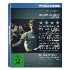 The Social Network (2-Disc Collector's Edition im limited Digipack) [Blu-ray] @Amazon.de für 12,90 inkl. Versand