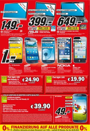[Lokal?] Samsung Galaxy S3 im Media Markt Göttingen 299,- €