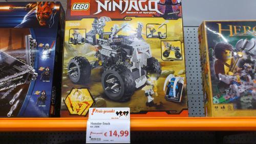 (Lokal Leipzig) Lego stark reduziert. z.B. LEGO Ninjago 2506 - Monster-Truck,  14,99 Euro