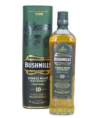 BUSHMILLS Single Malt Irish Whisky 40% Vol., 0,7 für 17.94€ incl.Versand    Allyouneed.com