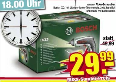 [Lokal Oldenburg Buss] Bosch IXO Akku-Schrauber