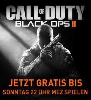 Call of Duty: Black Ops II Multiplayer kostenlos spielen bis Sonntag 22 Uhr @Steam
