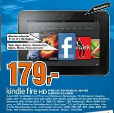 Kindle Fire HD 179EUR Saturn Düren.
