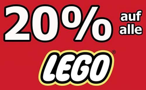 20% auf Alle Lego Artikel (real bundesweit) im Markt keine Versandkosten