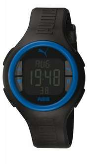Puma Time Active PULS BLACK BLUE - Uhr für 32,97€ bei Amazon