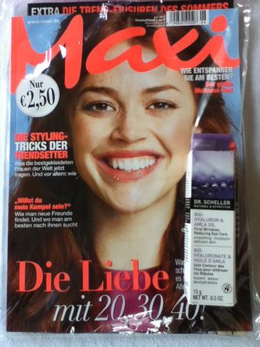 Dr. Scheller Augenpflege (Wert: 14€!) in der Zeitschrift Maxi