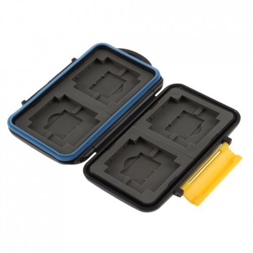 Für Fotografen und Filmer: Anti-Schock-Waterproof Memory Card Case Aufbewarungsbox