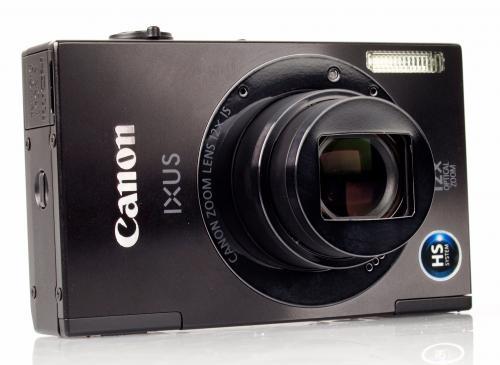 [Lokal in Velbert] Canon Ixus 500 HS - kompakte 10MP-Digitalkamera mit 12-fach Zoomobjektiv und 1080p-HD-Video für 99 Euro