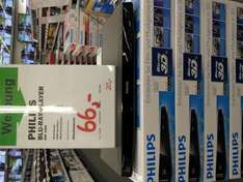 3D Blu Ray Player - Philips BDP3380 - local@MM Dietzenbach - 66 €