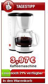 Kaffeemaschine (12 Tassen), Schweizer Taschenmesser, 25 Fotocards für 9,96 Euro bei Druckerzubehör.de