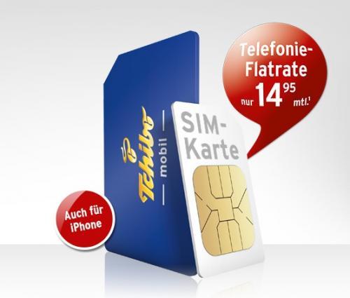 Tchibo Prepaid-SIM-Karte Allnet-Flat im 1.Monat kostenlos