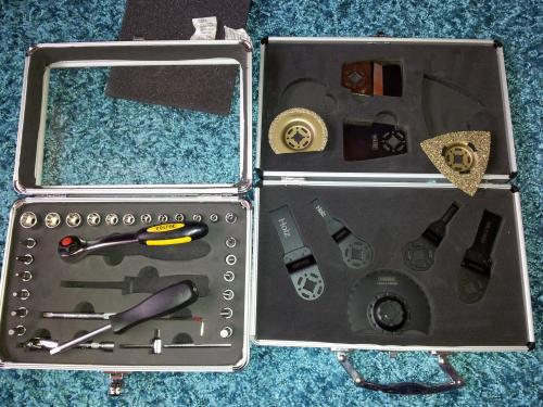 vers. Werkzeug-Kästen z.B.: Multiwerkzeug Kasten passend für Bosch