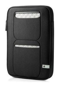HP Mini Sleeve Notebooktasche 25,9 cm (10,2 Zoll) schwarz-silber