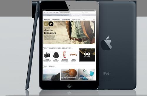 Apple iPad mini 16GB Wi-Fi schwarz billiger.de Facebook app idealo: 289€