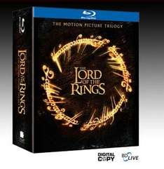 LORD OF THE RINGS BOX SET BLU-RAY