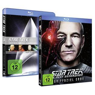 Star Trek TNG - Angriffsziel Erde - Blu-ray, EXKLUSIV @ real