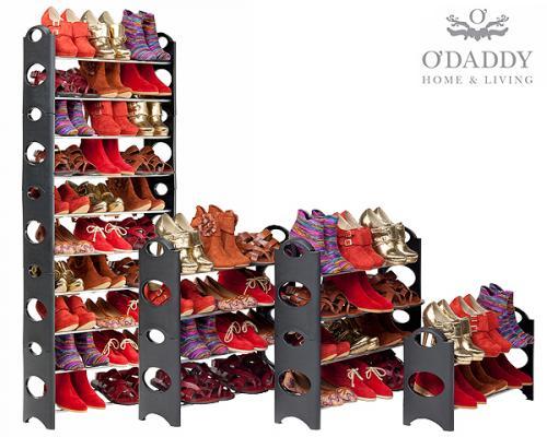 5 tlg. O-Daddy Schuhregal (Platz für 30 Paar Schuhe) 22,50€ zzgl. 5,95€ Versand @guut.de