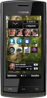 Nokia 500 Smartphone mit 3,2'' Display in schwarz für 72,56€ @Amazon Warehousedeals