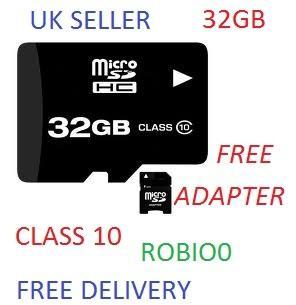 32 GB microSD ~14€