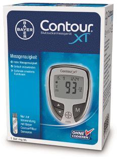 Bayer CONTOUR® XT | Blutzuckermessgerät Kostenlos
