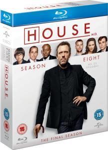 [Blu-ray] Dr. House Season 8 (O-Ton) @ Zavvi