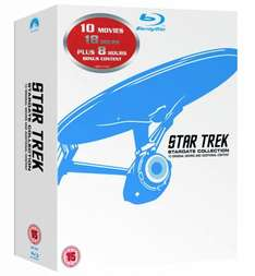 Star Trek: Stardate Collection, Film 1-10 (Remastered) [Blu-ray] für 76,17€ statt 138€