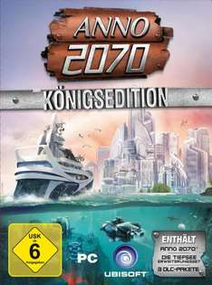 [UPDATE] ANNO 2070 - Königsedition für 20,51 @ gameladen.com // für 28,97€ @amazon download