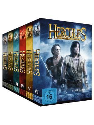 Hercules - Komplett-Package, Staffel 1-6 [34 DVDs]